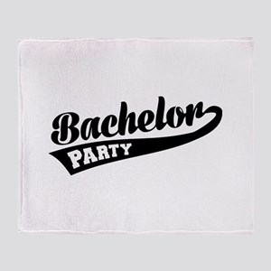Bachelor Party Throw Blanket