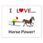 I Love Horse Power Small Poster