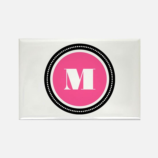 Pink Rectangle Magnet