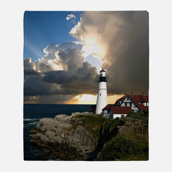 Lighthouse Beacon Throw Blanket