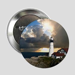 """Lighthouse Beacon 2.25"""" Button"""
