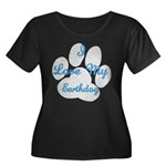 Love My Earthdog Women's Plus Size Scoop Neck Dark