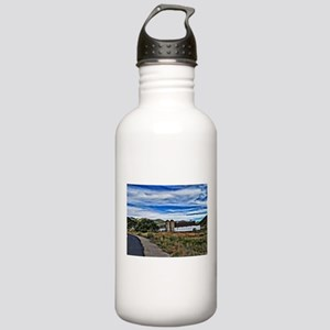 Barn and Trees Portrai Stainless Water Bottle 1.0L