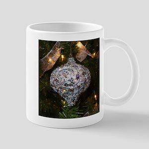 Silver Glitter Mug
