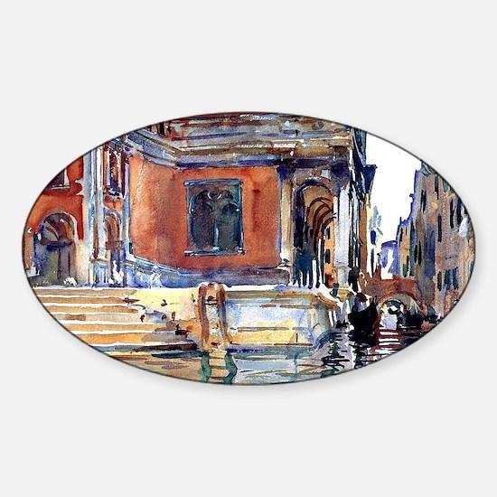 Sargent - Scuola di San Rocco Sticker (Oval)