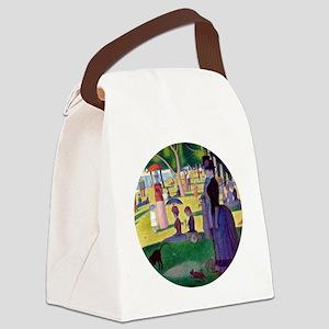 A Sunday Afternoon on La Grande J Canvas Lunch Bag