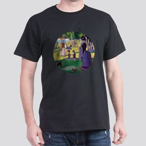 A Sunday Afternoon on La Grande Jatte Dark T-Shirt
