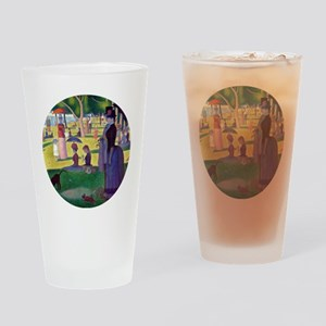 A Sunday Afternoon on La Grande Jat Drinking Glass