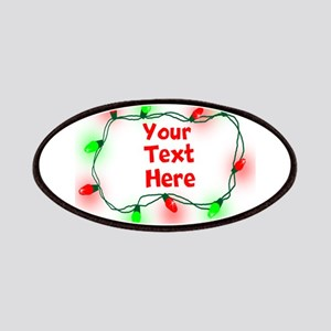 Custom Christmas Lights Patches