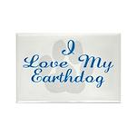 Earthdog Rectangle Magnet (10 pack)
