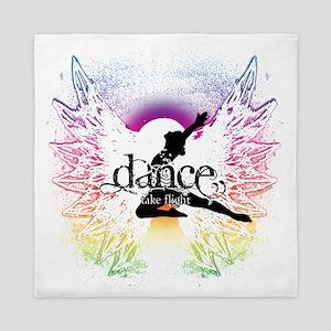 Dance Take Flight the Colors Queen Duvet