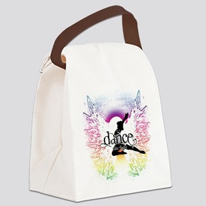 Dance Take Flight the Colors Canvas Lunch Bag