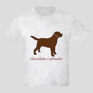 Chocolate Labrador Kids Light T-Shirt