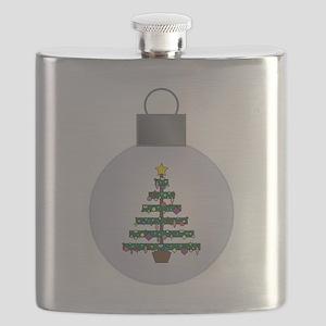 CHRISTMAS TREE Flask