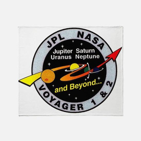 Voyager 1 & 2 Throw Blanket