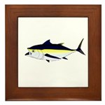 Blackfin Tuna v2t Framed Tile