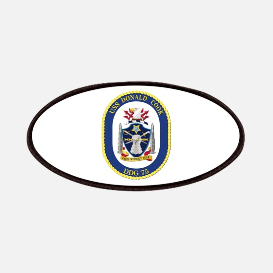 USS Donald Cook (DDG-75) Patches