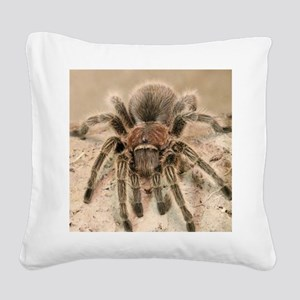 Rosehair Tarantula Square Canvas Pillow
