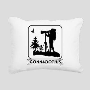 Gonnadothis.com Rectangular Canvas Pillow