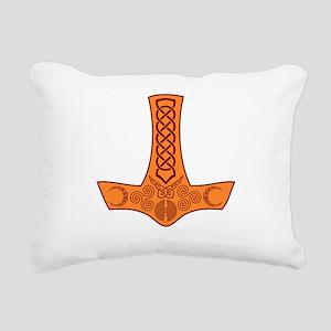 Mjölnir Rectangular Canvas Pillow