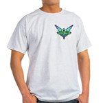 Ash Grey T-Shirt with Oolite pocket logo