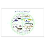 Florida Keys Fish Targets Posters