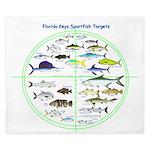 Florida Keys Fish Targets King Duvet