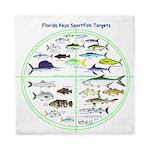 Florida Keys Fish Targets Queen Duvet