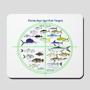 Florida Keys Fish Targets Mousepad