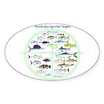 Florida Keys Fish Targets Sticker