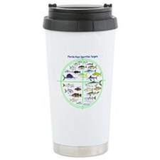 Florida Keys Fish Targets Travel Mug
