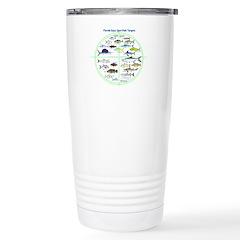 Florida Keys Fish Targets Travel Mug