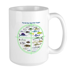 Florida Keys Fish Targets Mugs