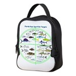 Florida Keys Fish Targets Neoprene Lunch Bag