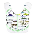 Florida Keys Fish Targets Bib
