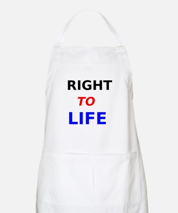 Right to Life Apron