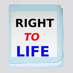Right to Life baby blanket