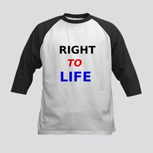 Right to Life Baseball Jersey