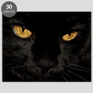 Sexy Black Cat Puzzle