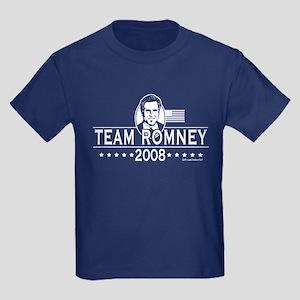 B&W Team Romney Kids Dark T-Shirt