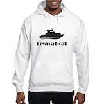 I Own a Boat Hoodie