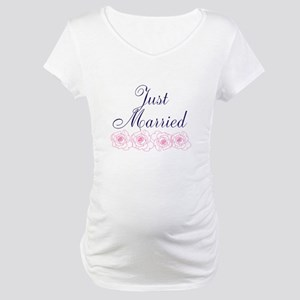 Just Married Maternity T-Shirt