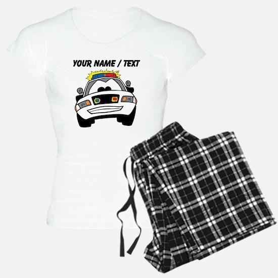 Cartoon Police Car Pajamas