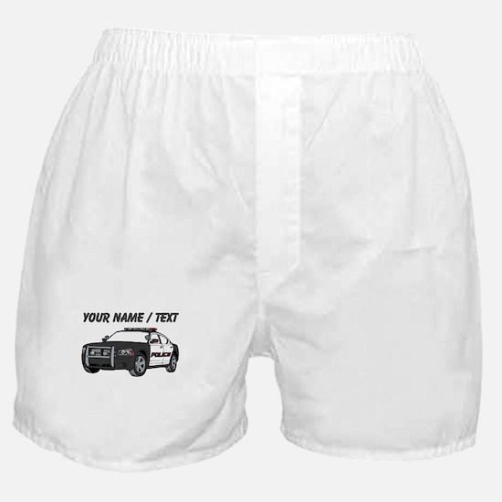 Police Cruiser Boxer Shorts