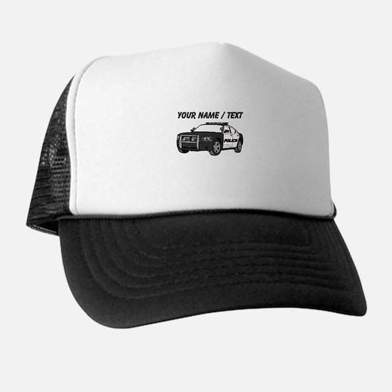 Police Cruiser Trucker Hat