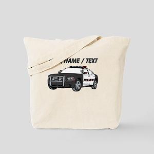 Police Cruiser Tote Bag