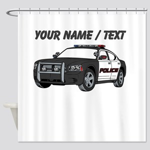 Police Cruiser Shower Curtain