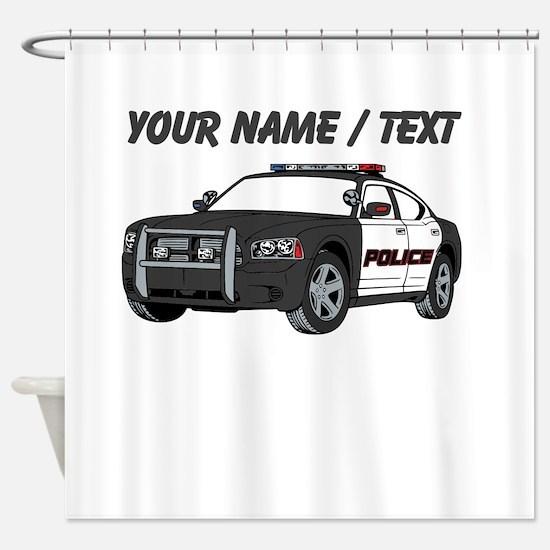 Police Cruiser Shower Curtain