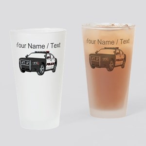 Police Cruiser Drinking Glass