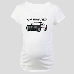 Police Cruiser Maternity T-Shirt
